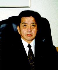 関西学生柔道連盟 佐野修弘会長 の写真